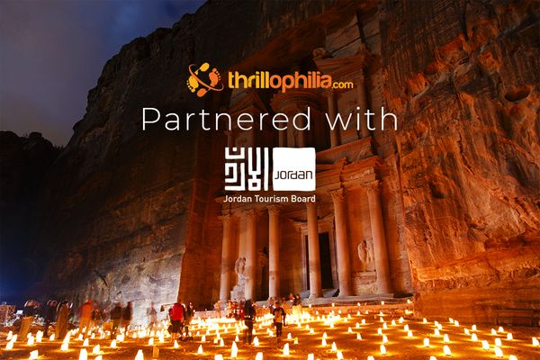 Thrillophilia collaborates with the Jordan Tourism Board to position Jordan Differently