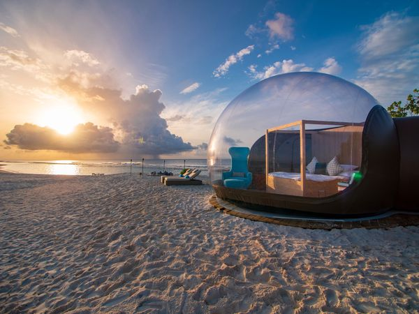 Seaside Finolhu In Maldives Introduces The Luxurious 'Beach Bubble'